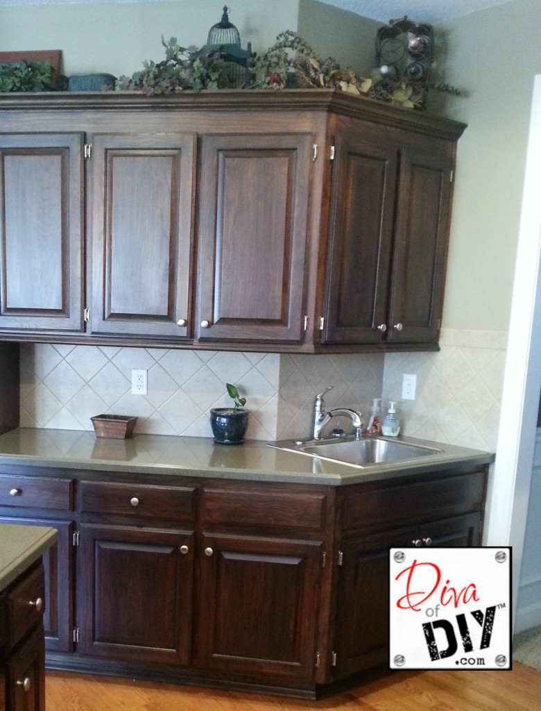 kitchen cabinet stains do yourself photo - 10
