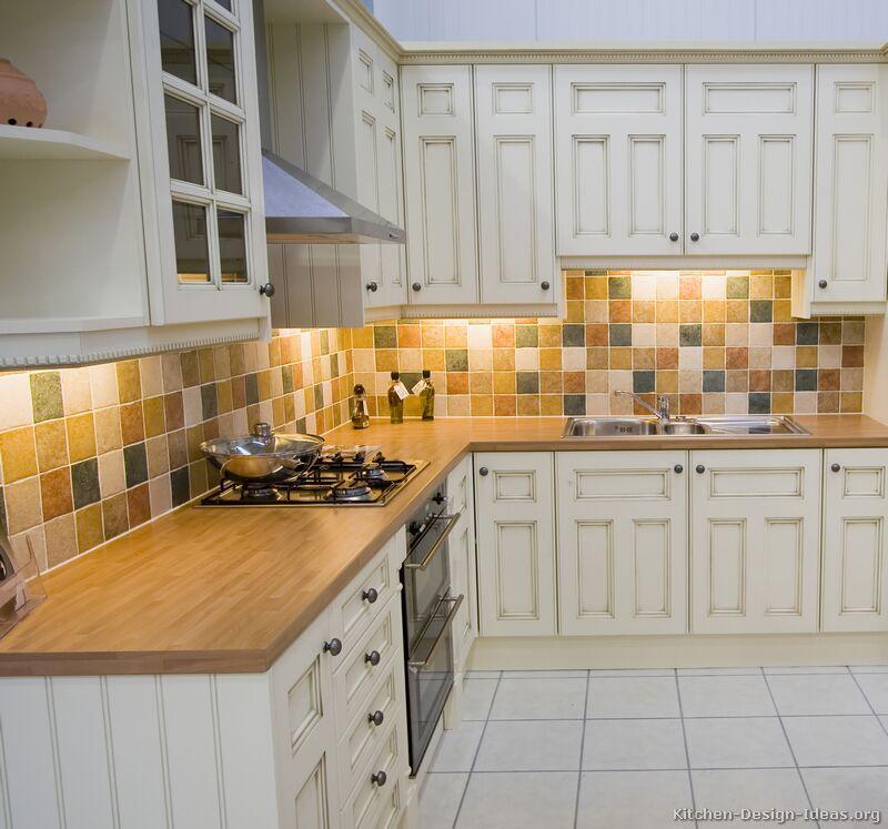 kitchen cabinet tile ideas photo - 1