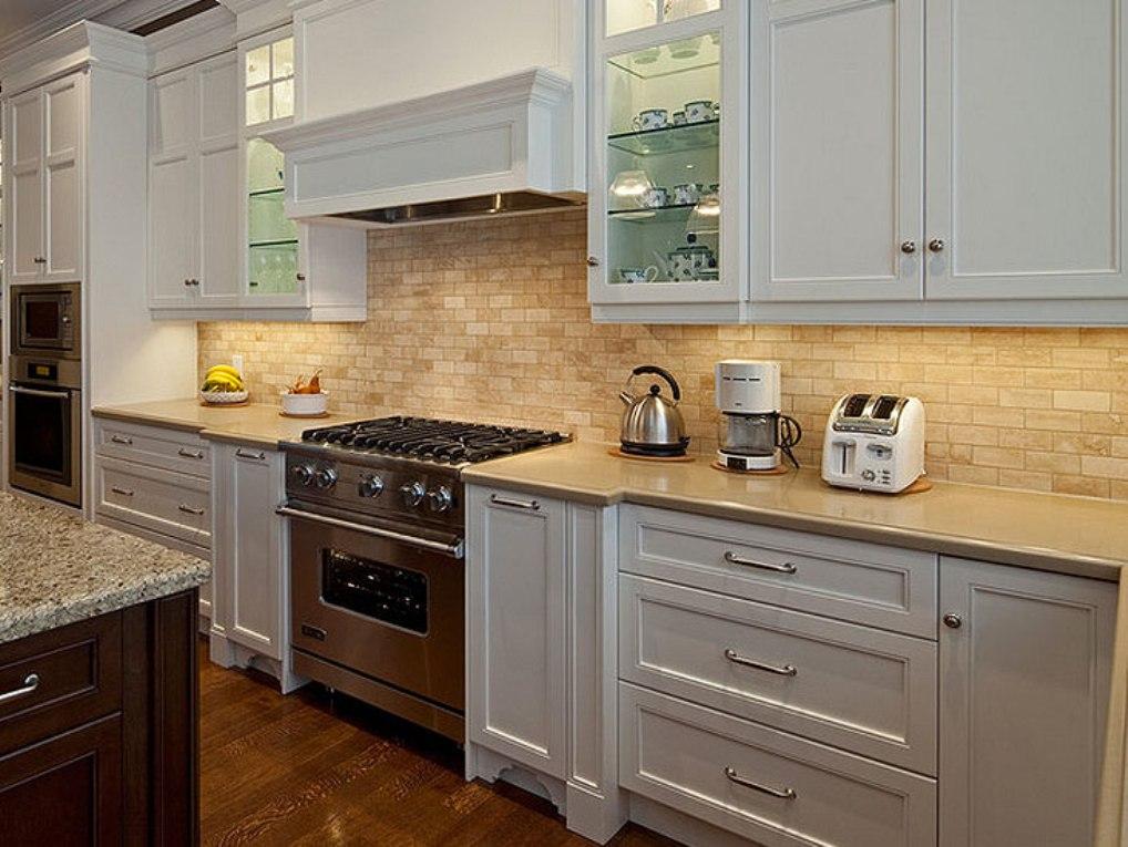 kitchen cabinet tile ideas photo - 5
