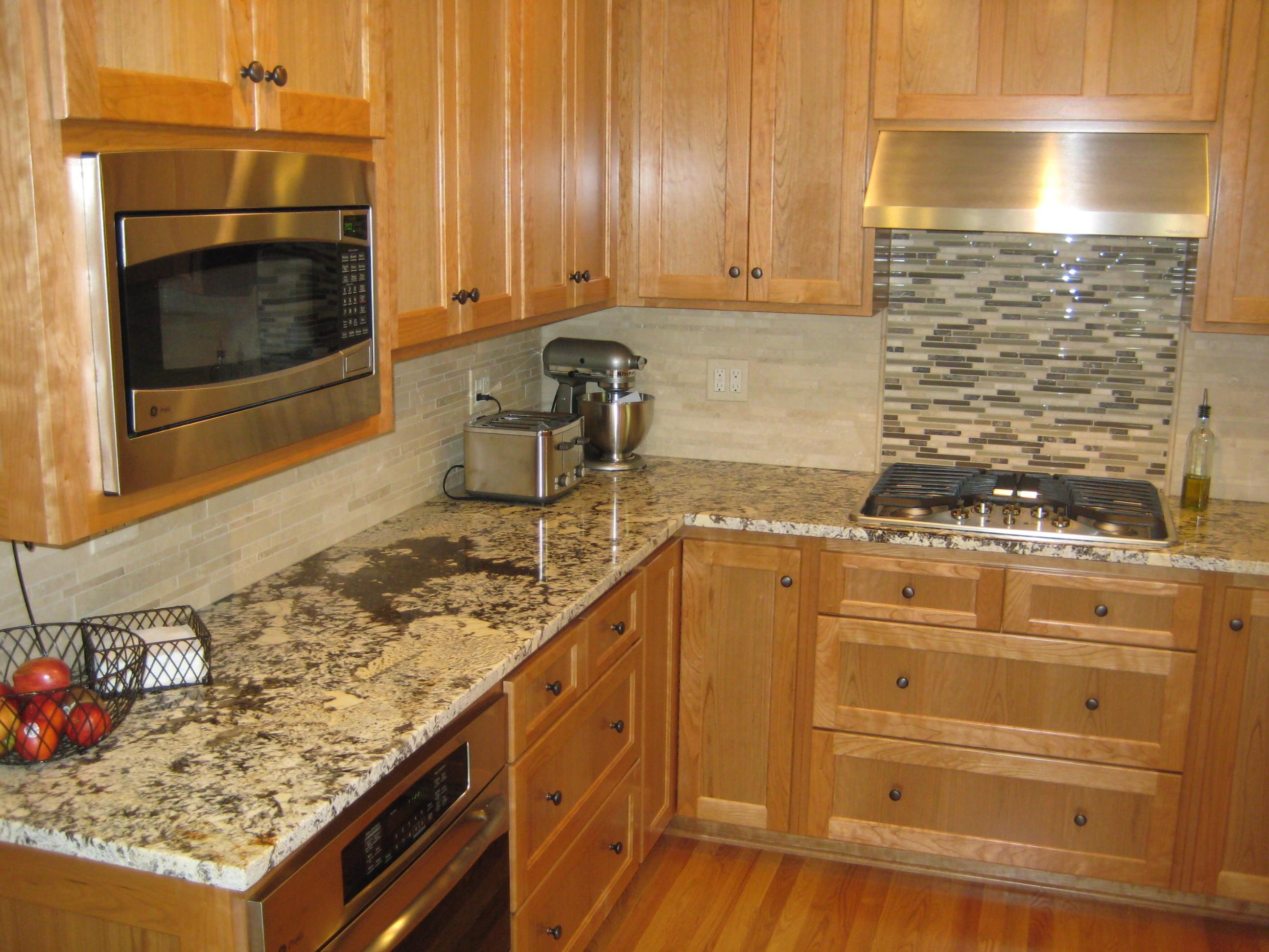 kitchen cabinet tile ideas photo - 7
