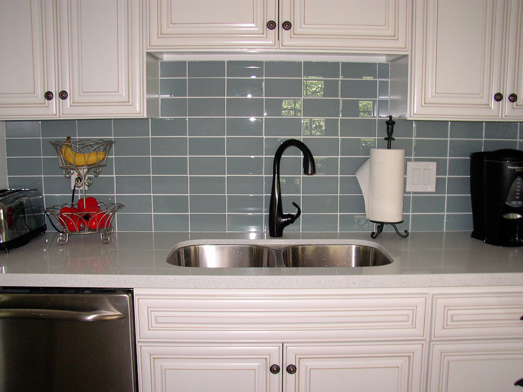 kitchen cabinet tile ideas photo - 8