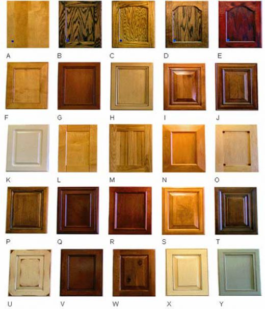 kitchen cabinet wood stain colors photo - 5