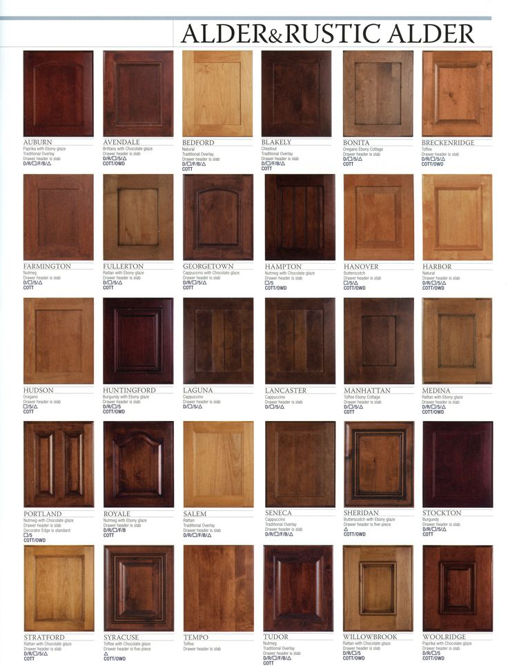 kitchen cabinet wood stain colors photo - 6