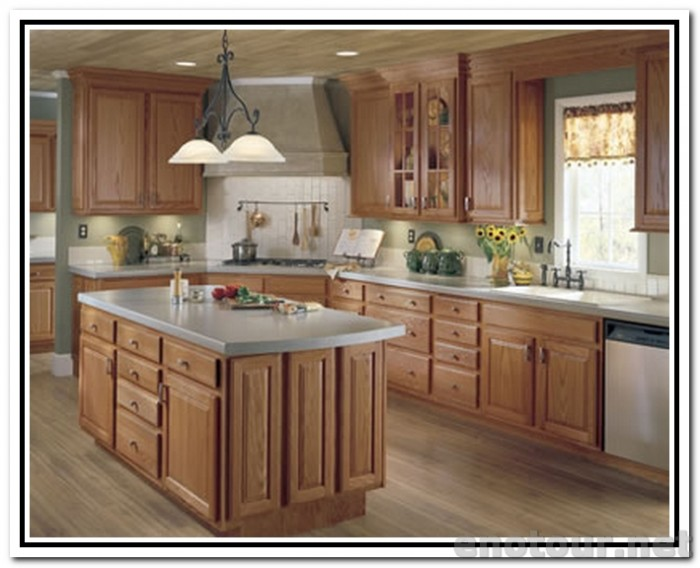 kitchen cabinet wood stain colors photo - 8