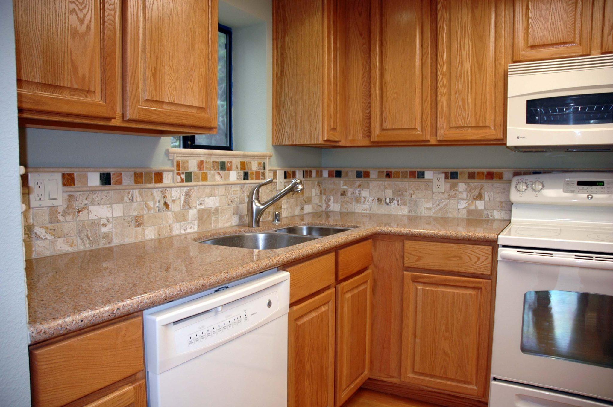 kitchen cabinets backsplash ideas photo - 10