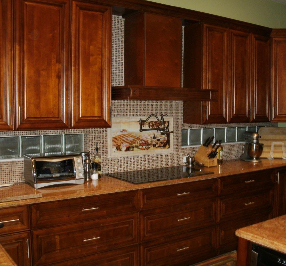 kitchen cabinets backsplash ideas photo - 3