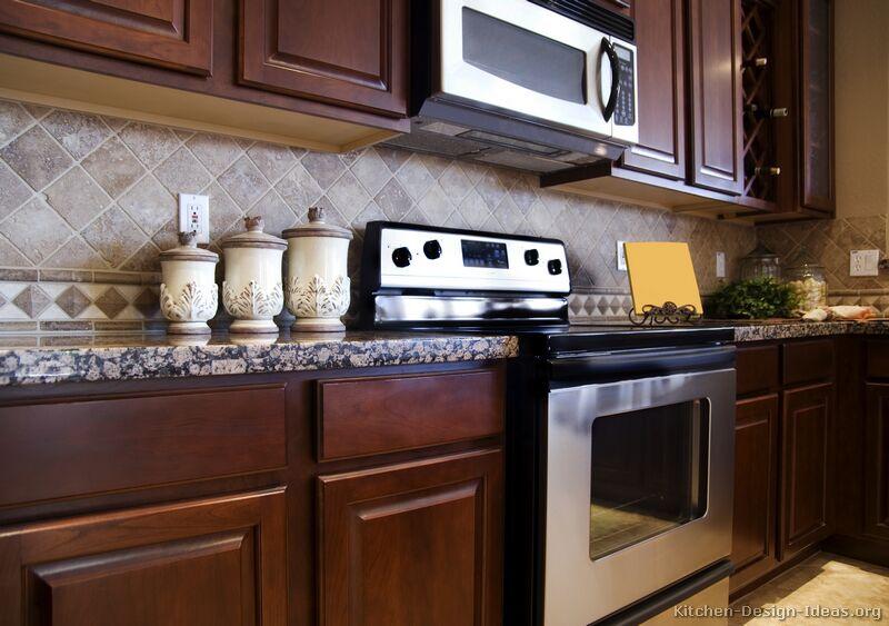 kitchen cabinets backsplash ideas photo - 4