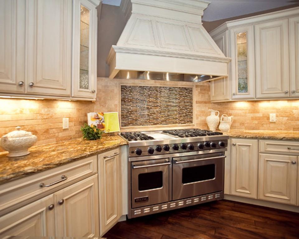 kitchen cabinets backsplash ideas photo - 6