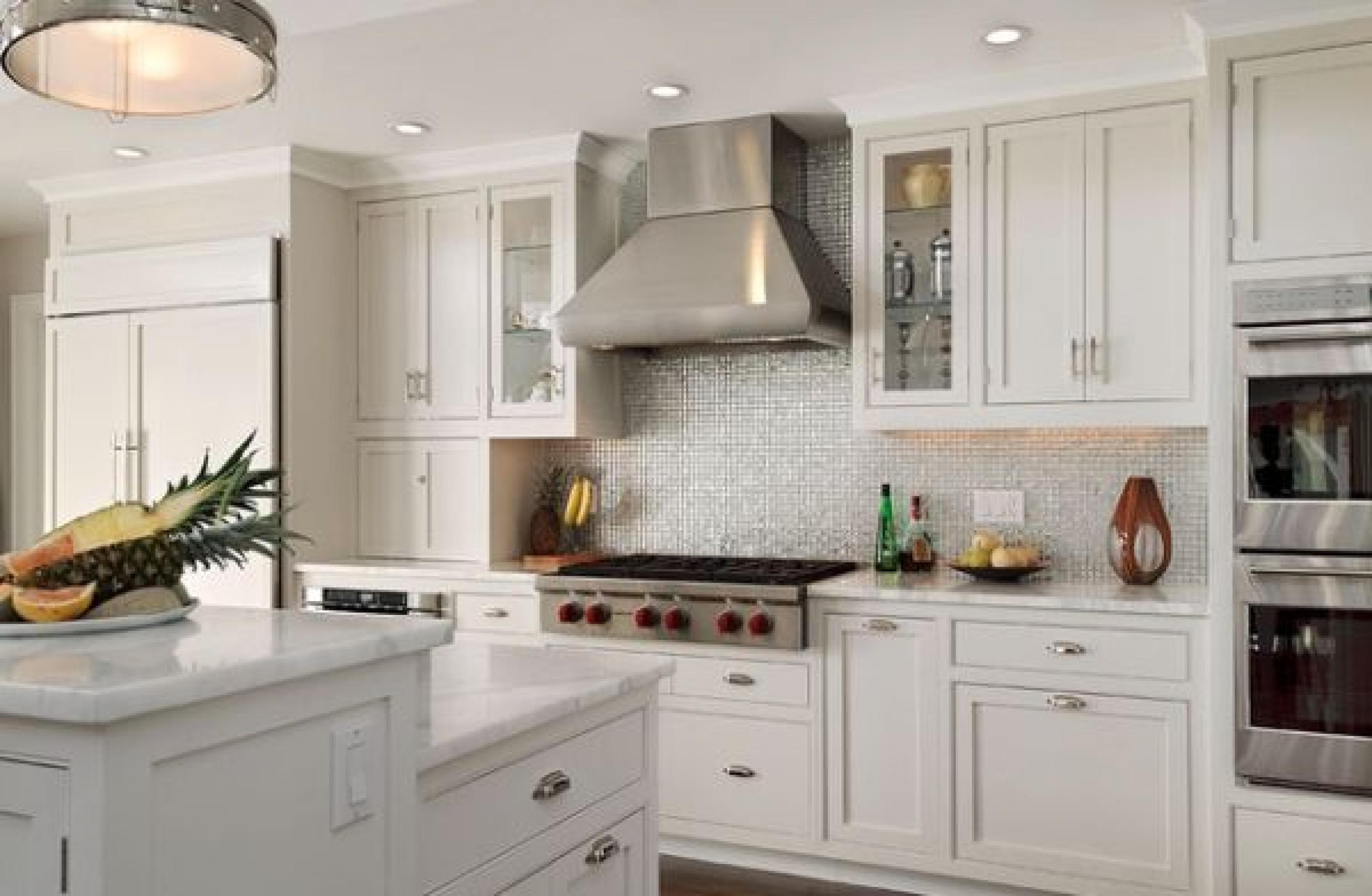kitchen cabinets backsplash ideas photo - 7