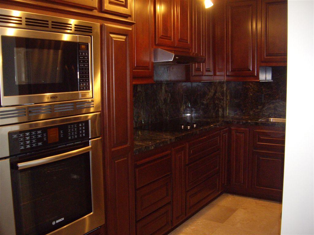 kitchen cabinets cherry stain photo - 10