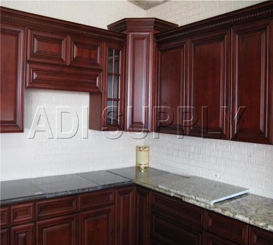 kitchen cabinets cherry stain photo - 5