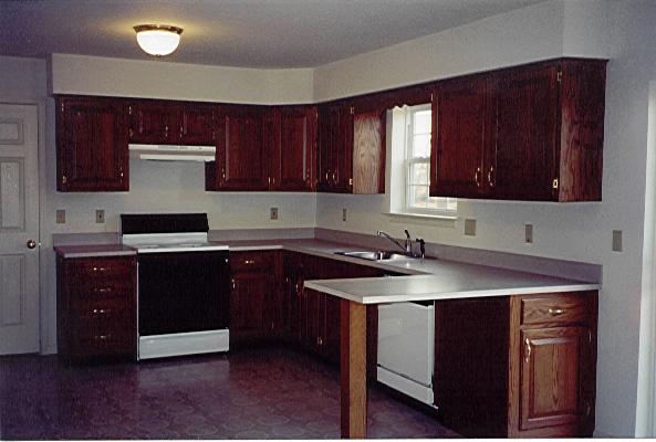 kitchen cabinets cherry stain photo - 8