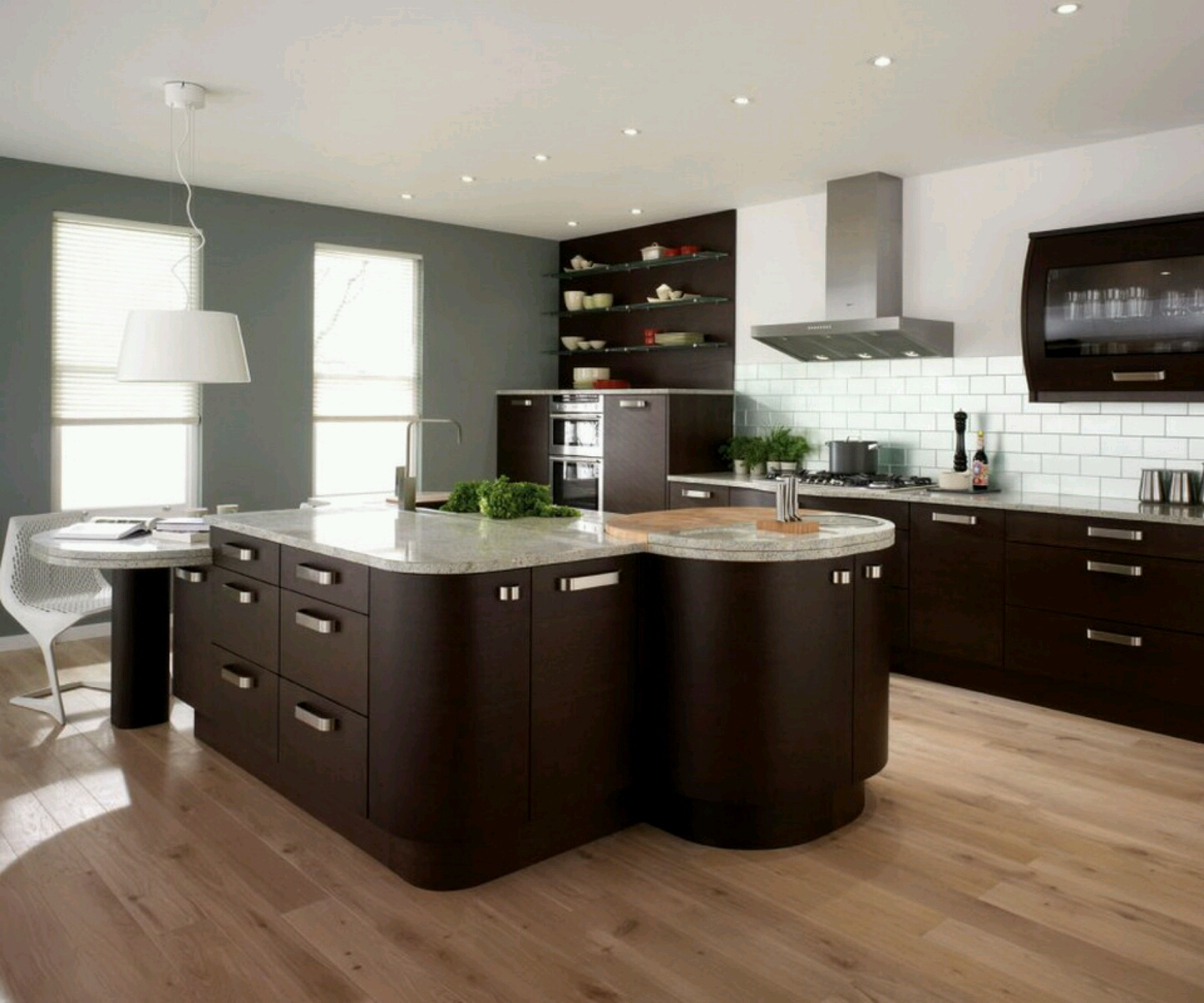 kitchen cabinets design and ideas photo - 1