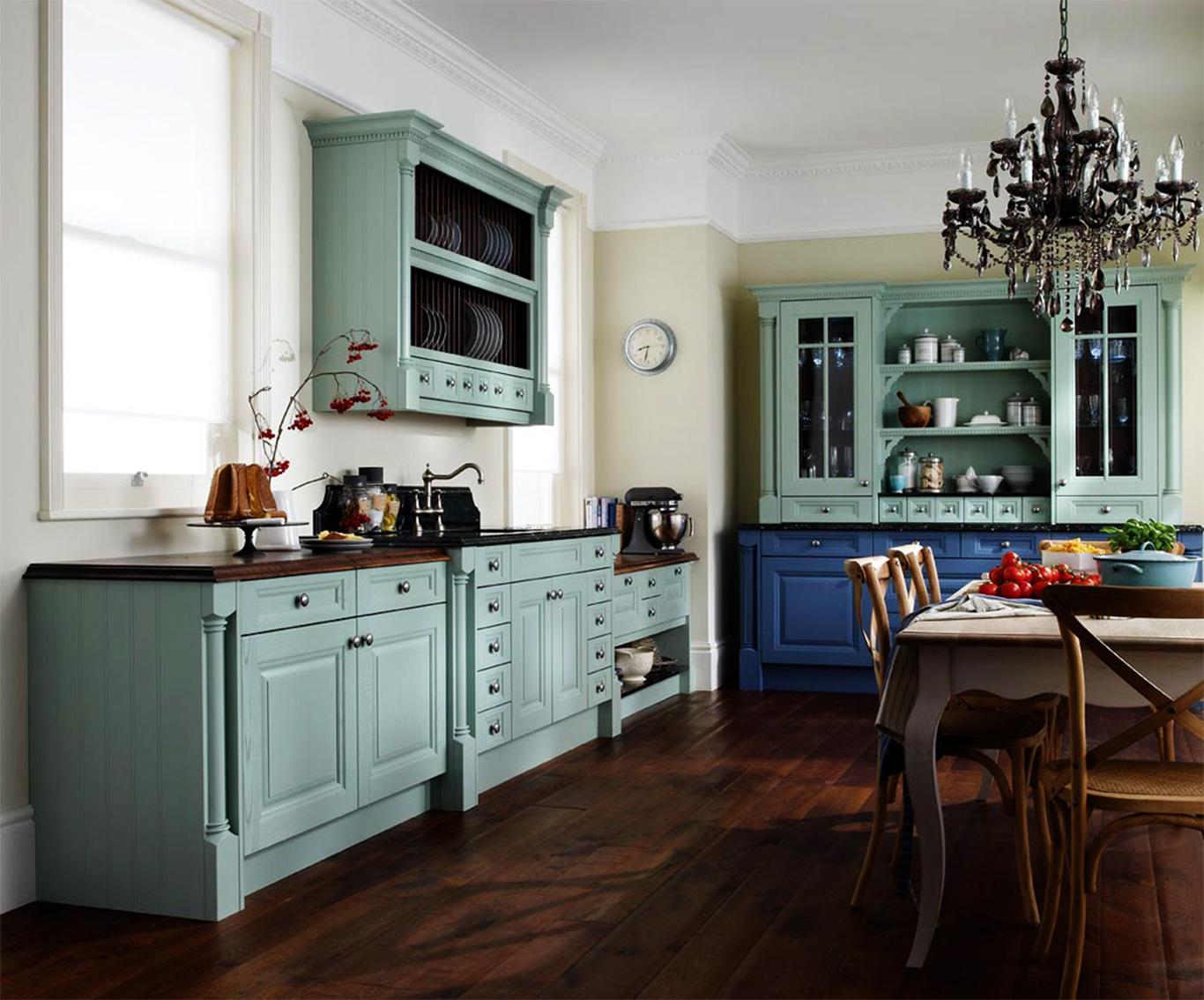 kitchen cabinets ideas colors photo - 2