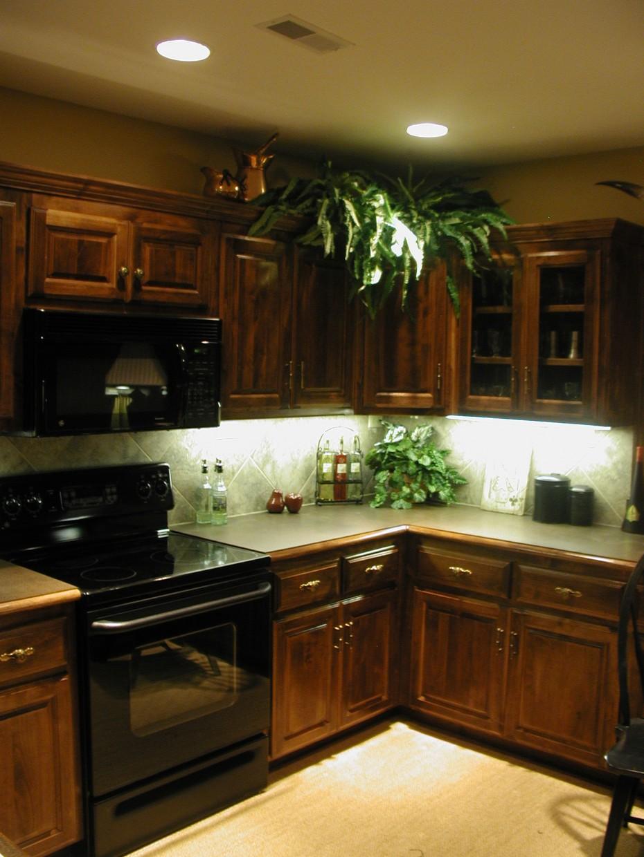 kitchen cabinets lighting ideas photo - 4