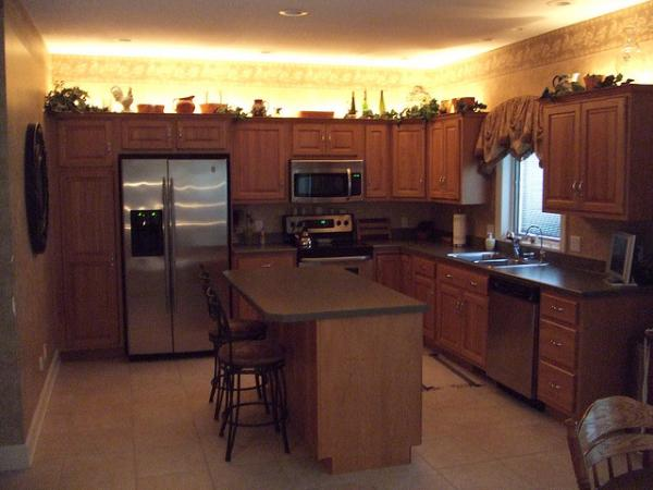 kitchen cabinets lighting ideas photo - 6