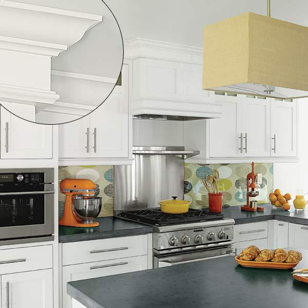 kitchen cabinets molding ideas photo - 1