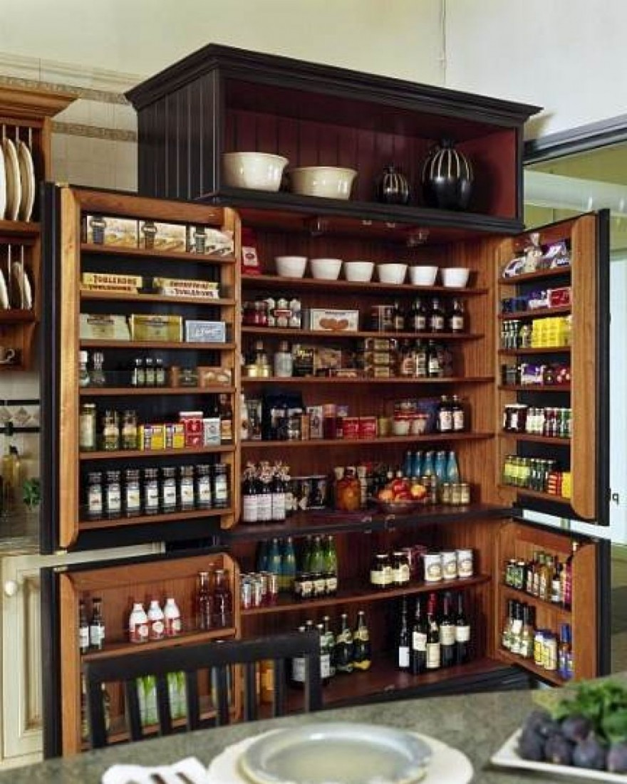 kitchen cabinets pantry ideas photo - 2