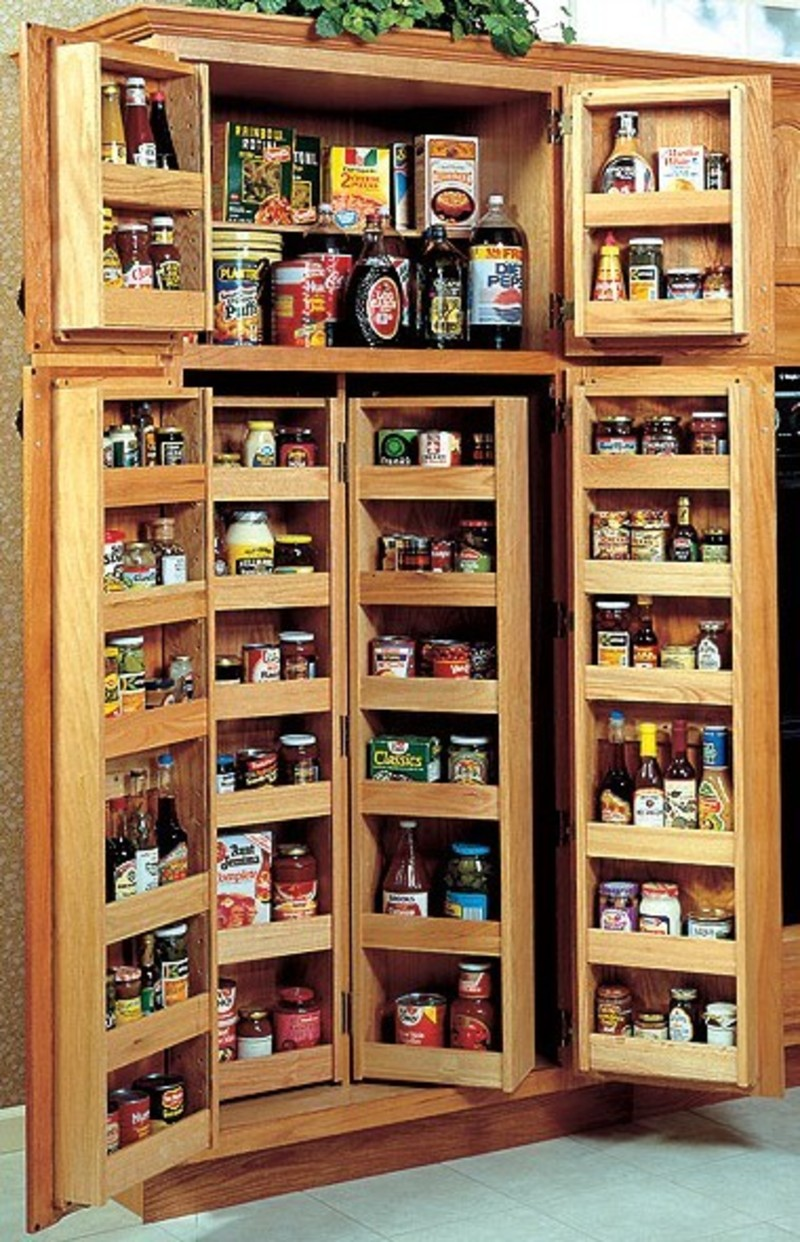 kitchen cabinets pantry ideas photo - 8