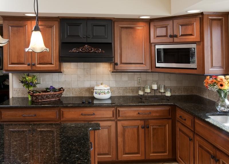 Kitchen cabinets refinishing ideas hawk haven - Refinishing bathroom cabinets ideas ...