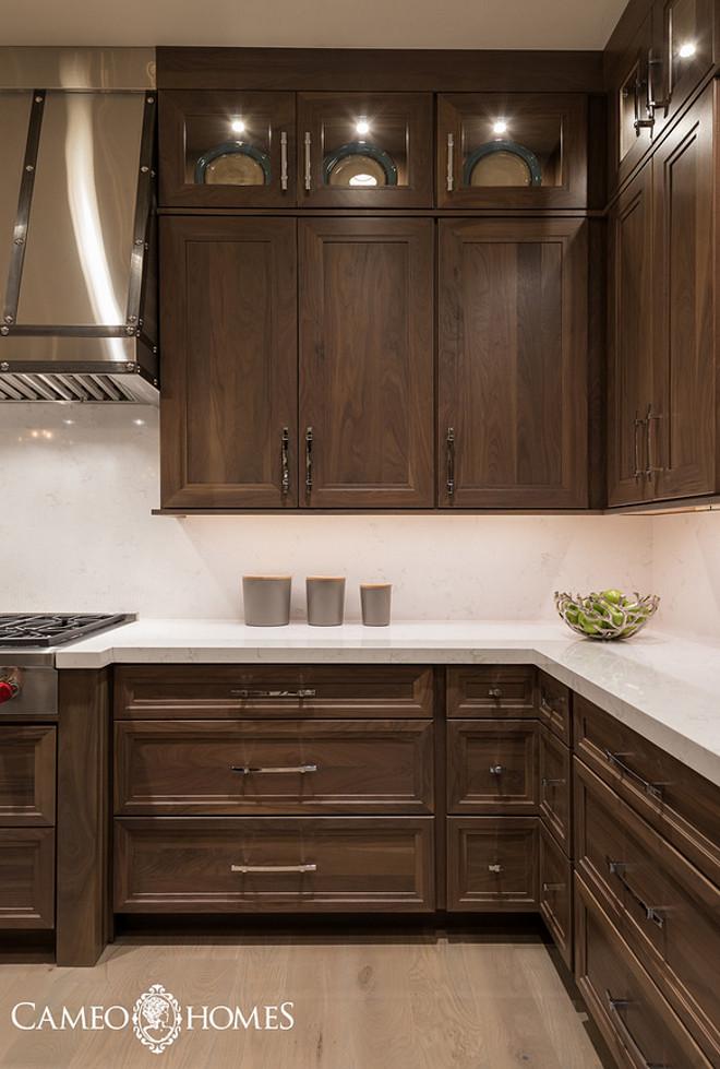 kitchen cabinets stain ideas photo - 1
