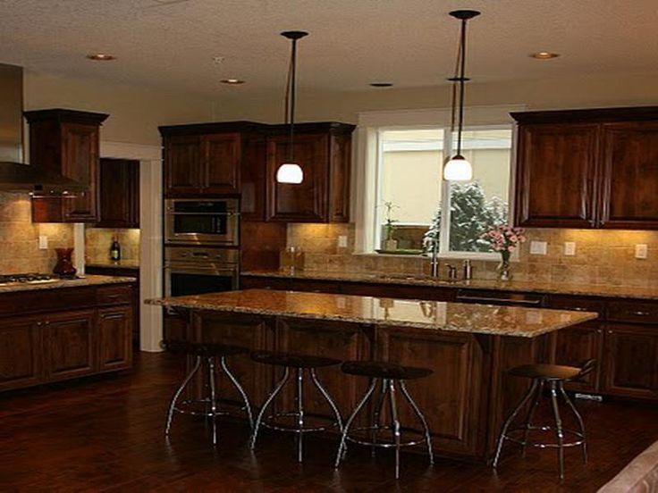 kitchen cabinets stain ideas photo - 3