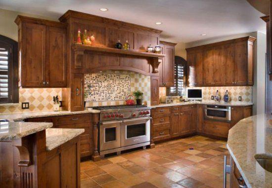 kitchen cabinets stain ideas photo - 6