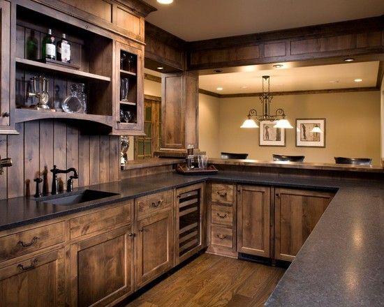 kitchen cabinets stain ideas photo - 7