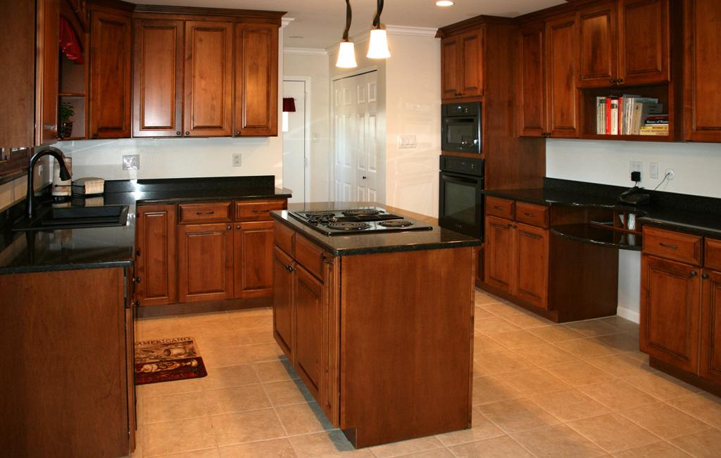 kitchen cabinets stain ideas photo - 8