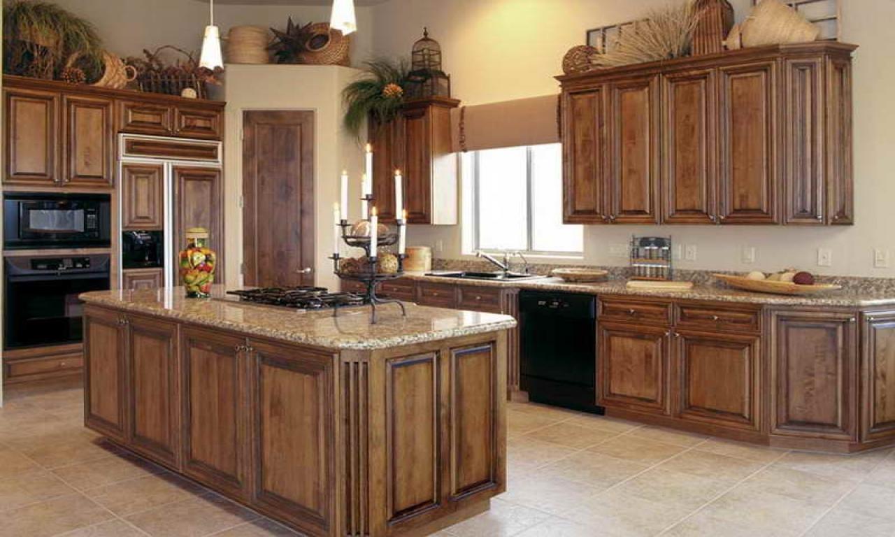 kitchen cabinets stain ideas photo - 9
