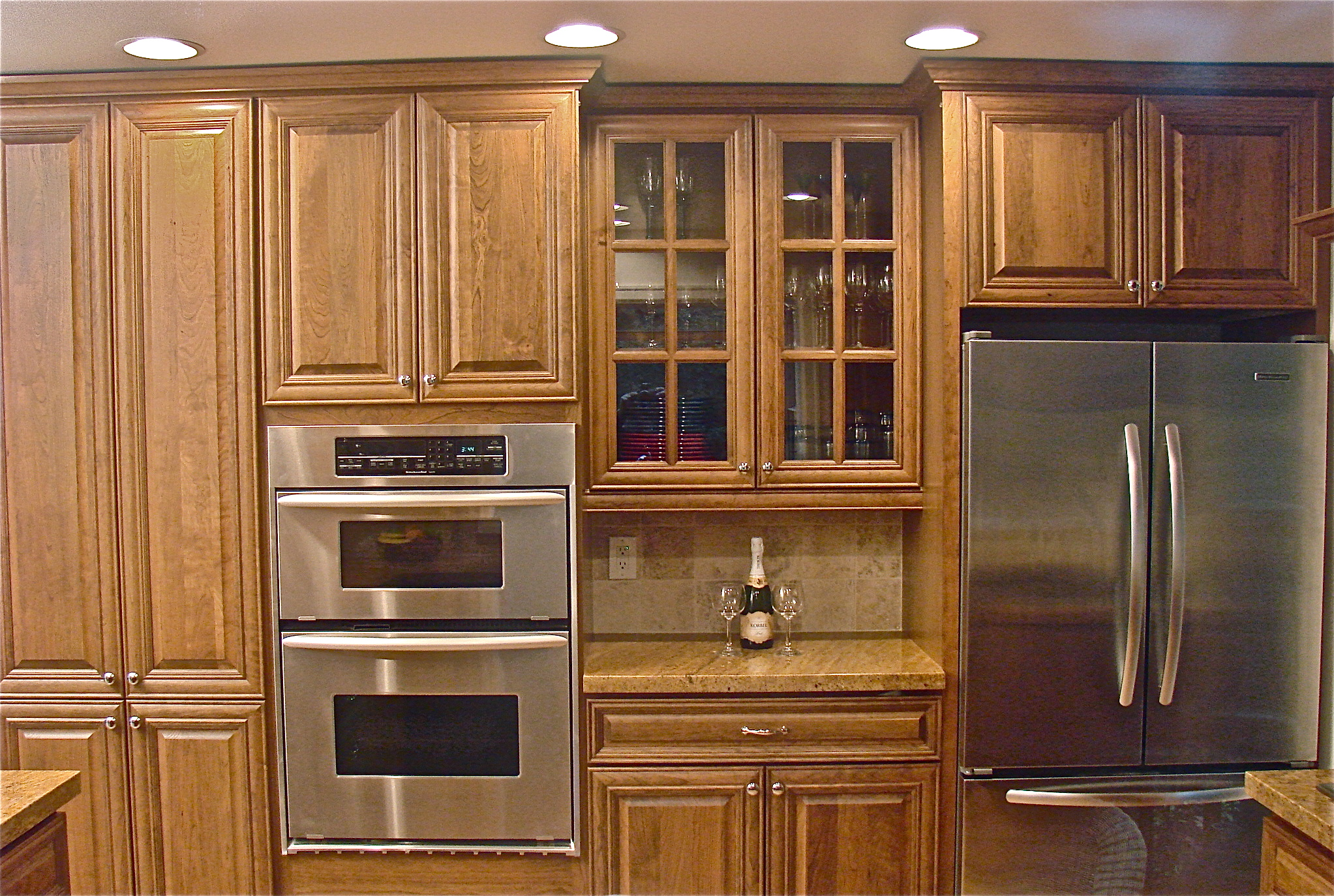 kitchen cabinets stains pictures photo - 7