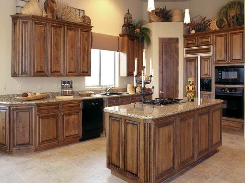 kitchen cabinets stains pictures photo - 8