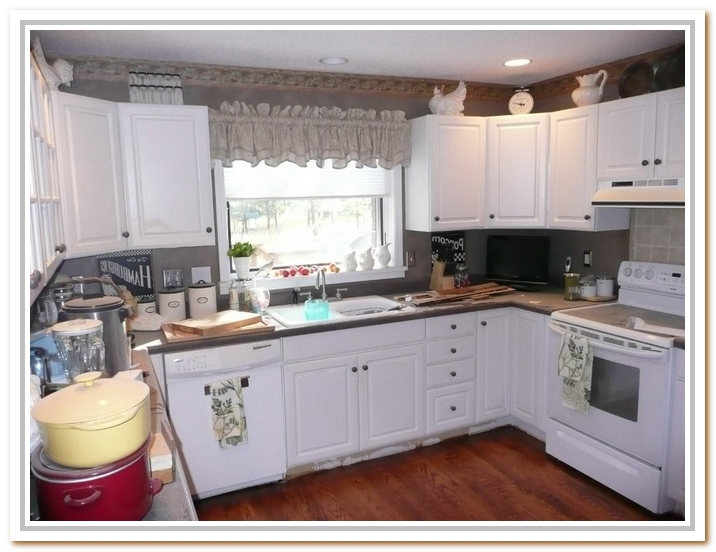 kitchen cabinets white formica photo - 2