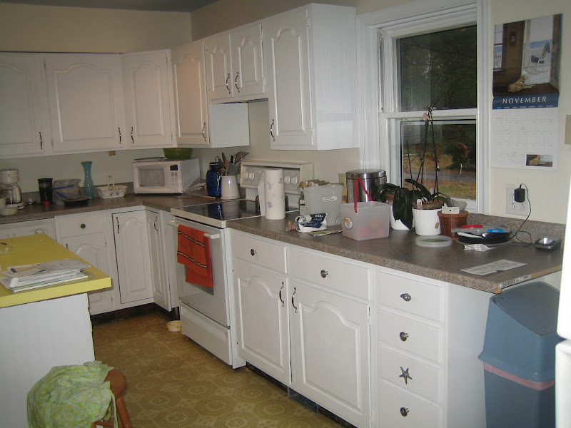 kitchen cabinets white formica photo - 7