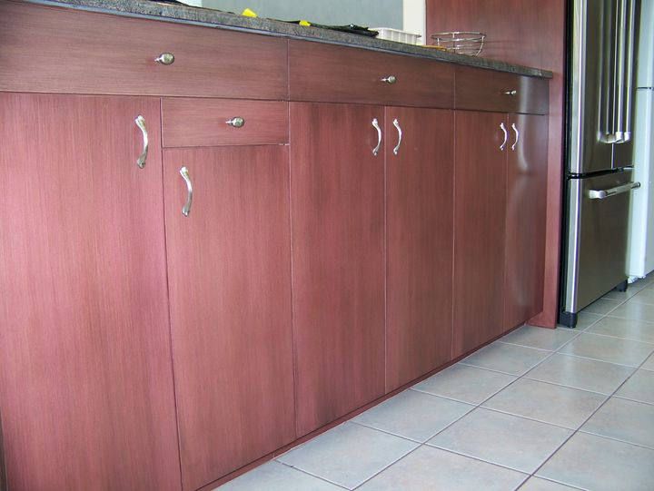 kitchen cabinets white formica photo - 9