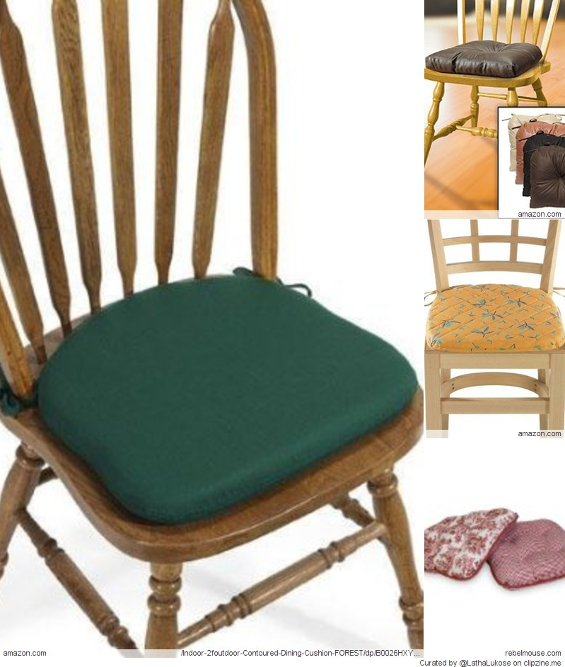 kitchen chairs cushions photo - 10