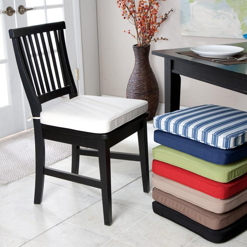 kitchen chairs cushions photo - 4