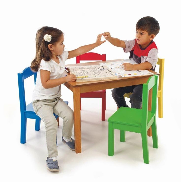 kitchen chairs for kids photo - 2