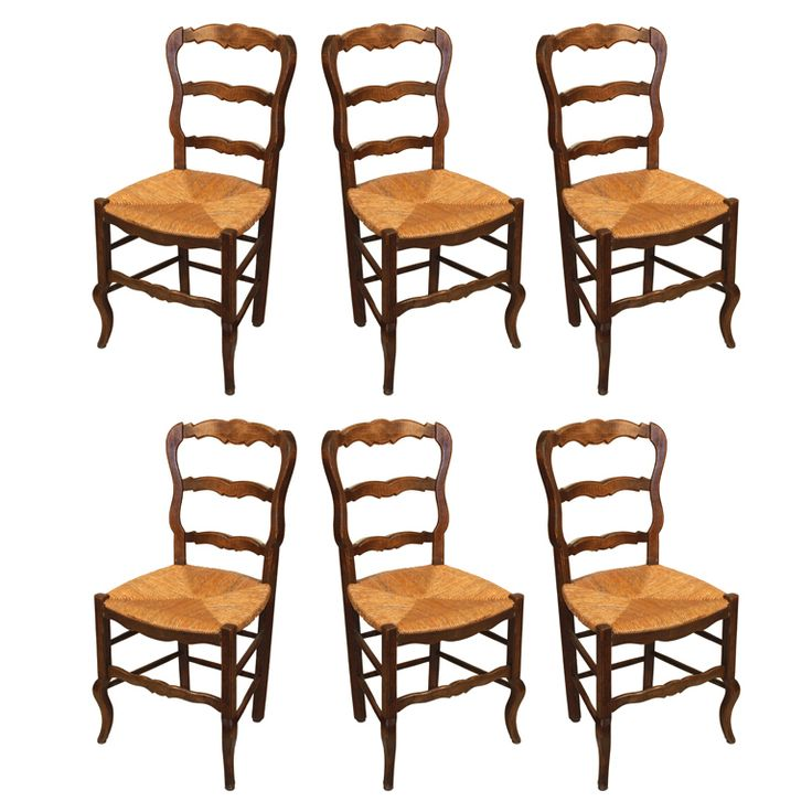 kitchen chairs french country photo - 5