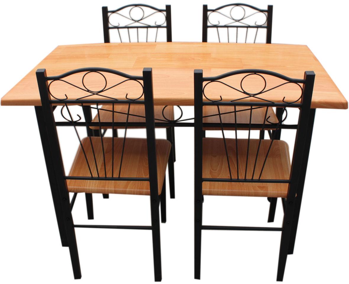 kitchen chairs metal frame photo - 3