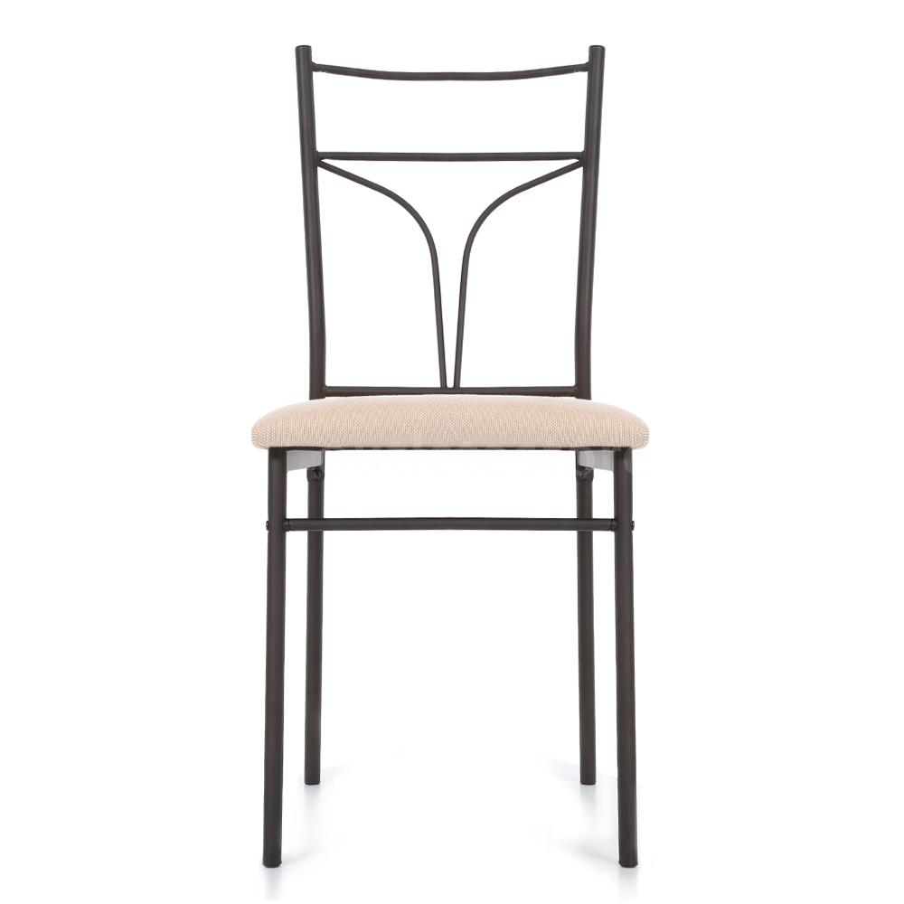 kitchen chairs metal frame photo - 4