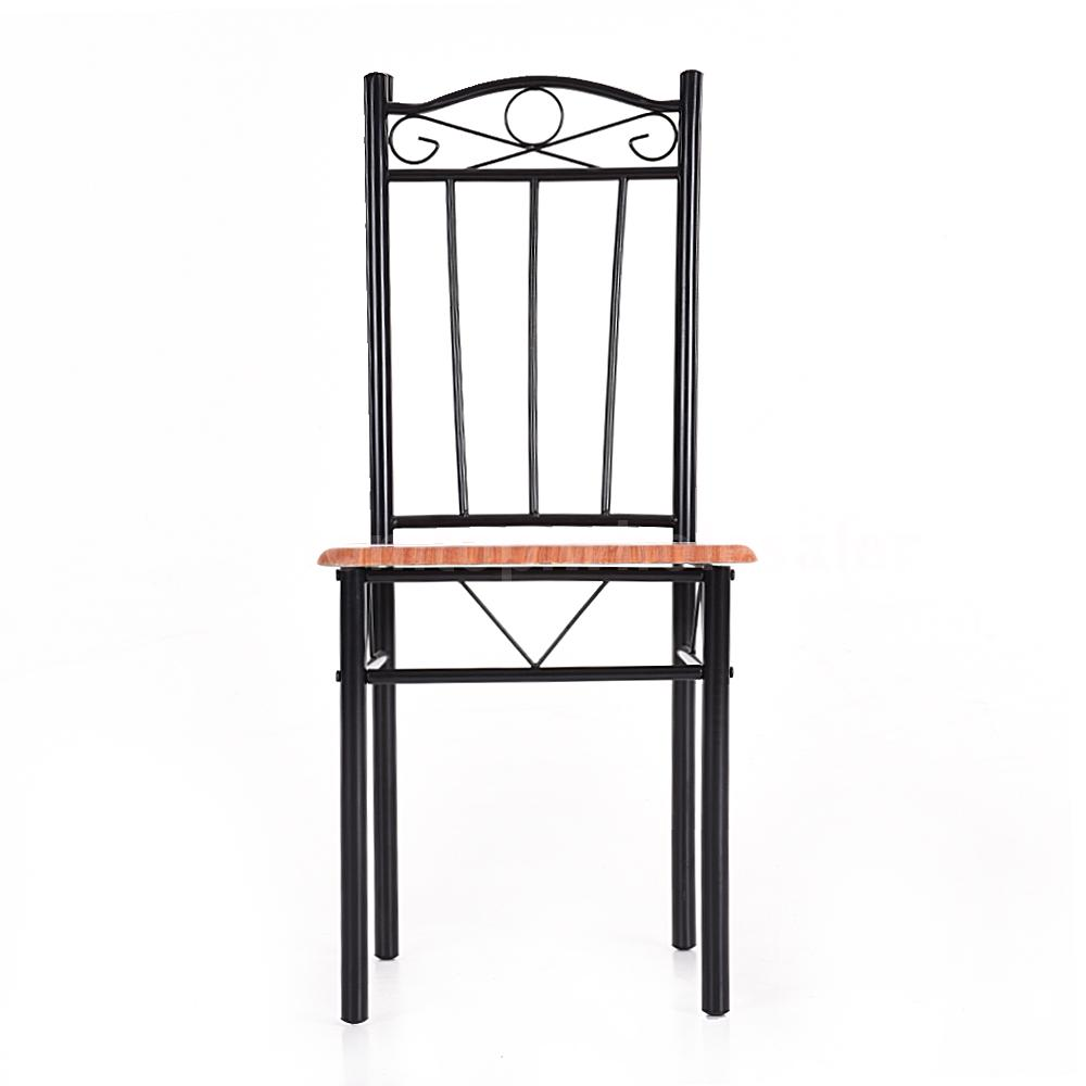 kitchen chairs metal frame photo - 6