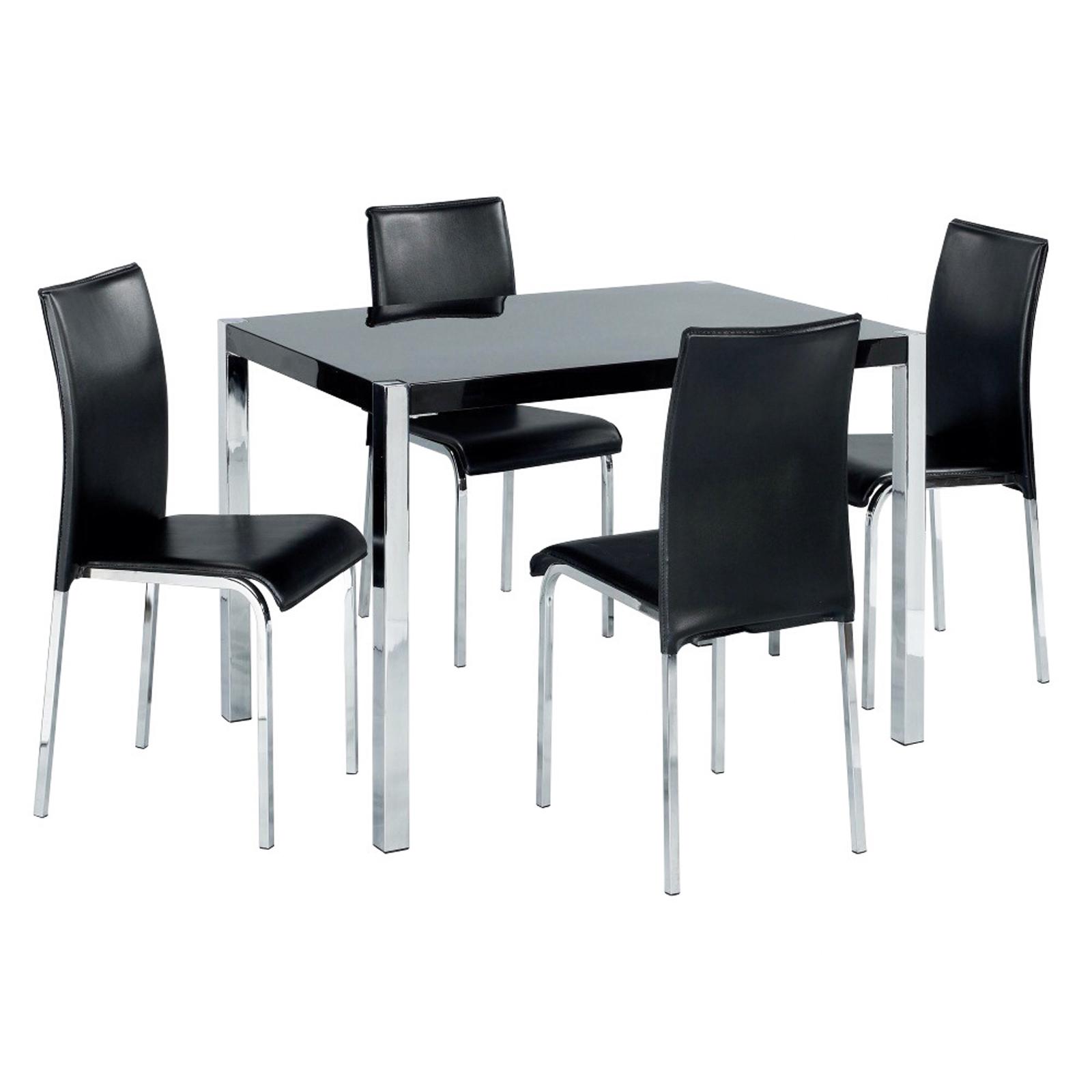 kitchen chairs metal frame photo - 7