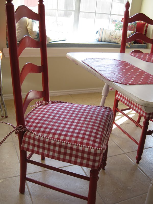 kitchen chairs seat covers photo - 1