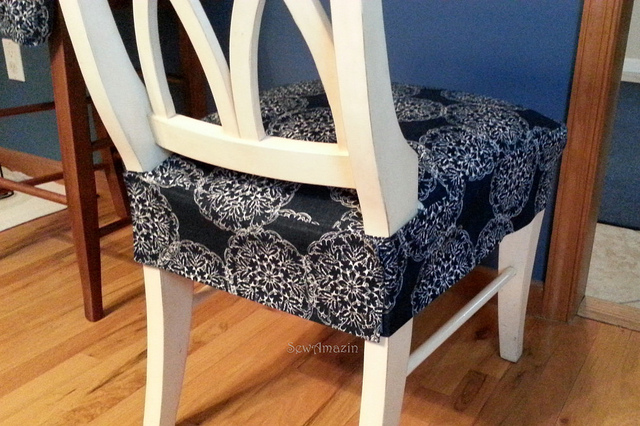 kitchen chairs seat covers photo - 5