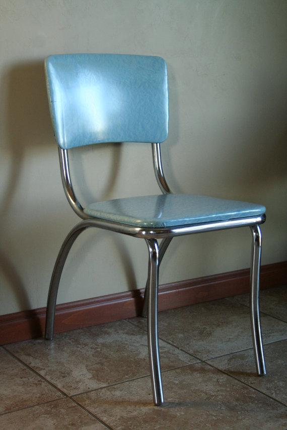 kitchen chairs vinyl photo - 1