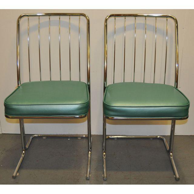 kitchen chairs vinyl photo - 10