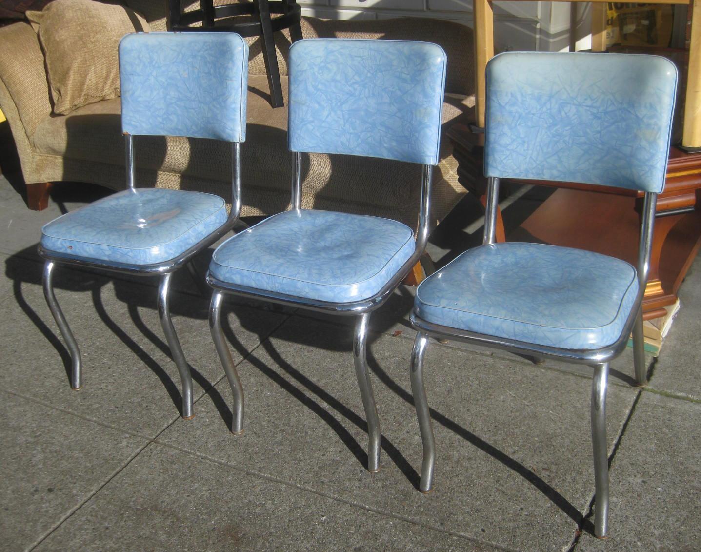kitchen chairs vinyl photo - 2