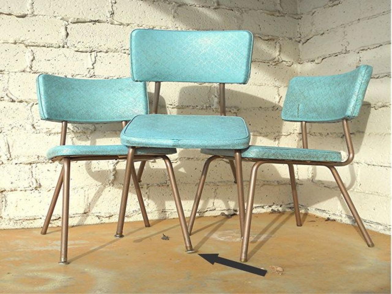kitchen chairs vinyl photo - 8
