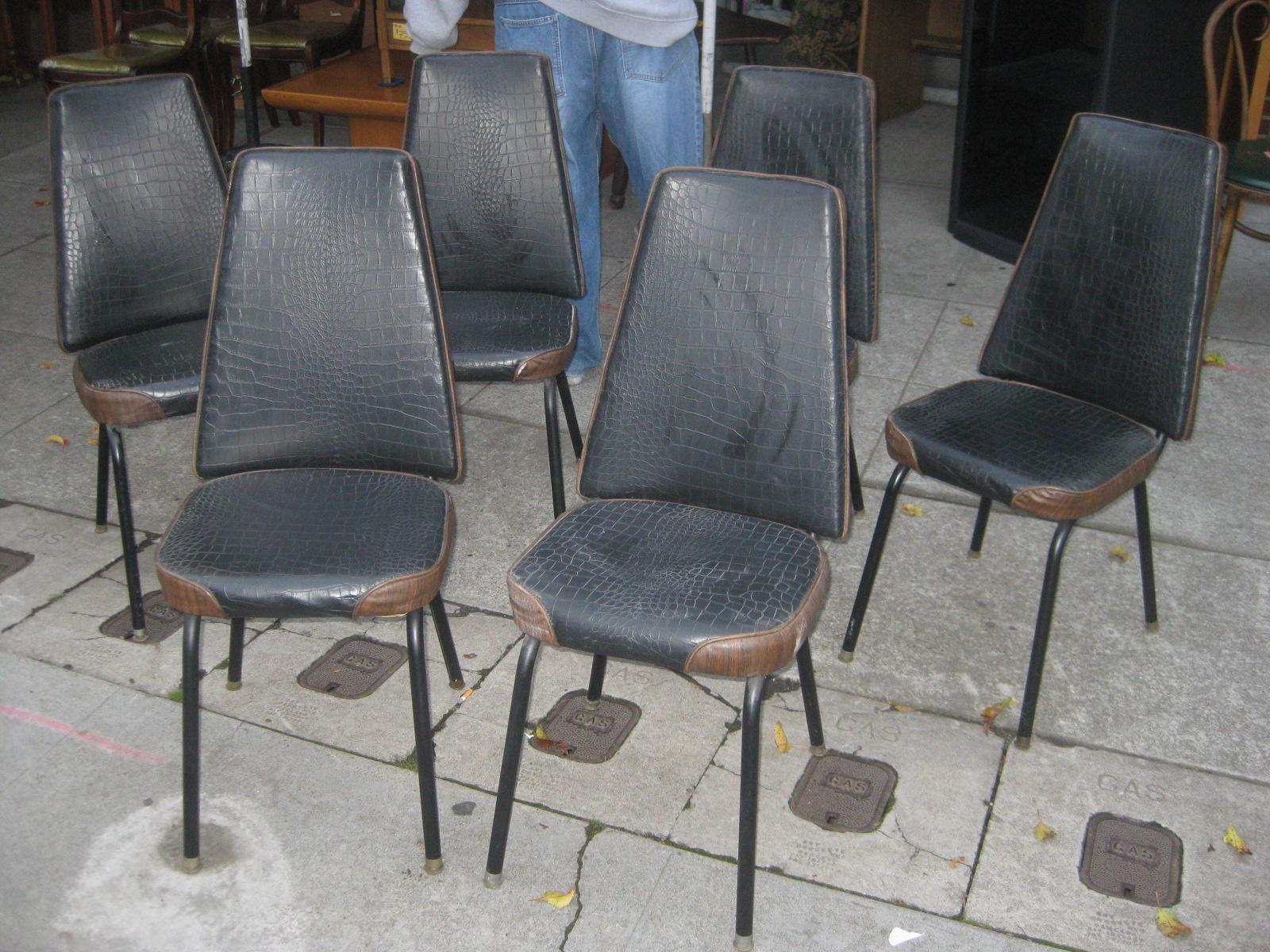 kitchen chairs vinyl photo - 9